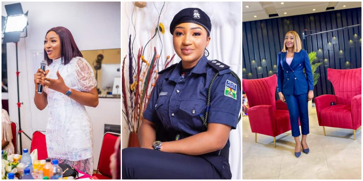 Beautiful Female Lawyer Celebrates Joining The Nigerian Police Force, Vows to Use Portfolio for a Good Course